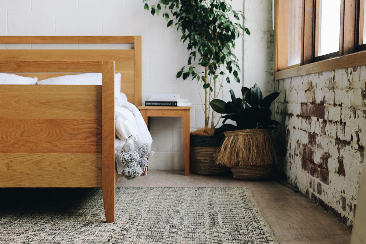 AL and Imo Handmade - Tall Scandi - custom American Oak timber bedframe - Surf Coast - Melbourne - Victoria - Australia-57.jpg