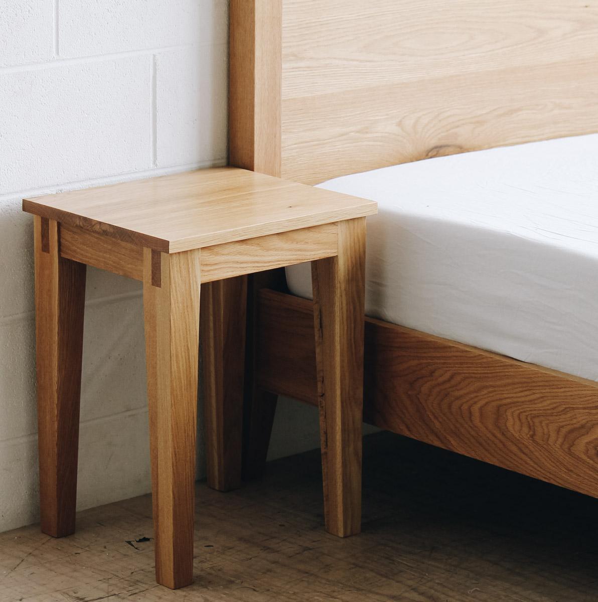 AL and Imo Handmade - Tall Scandi - custom American Oak timber bedframe - Surf Coast - Melbourne - Victoria - Australia-99.jpg