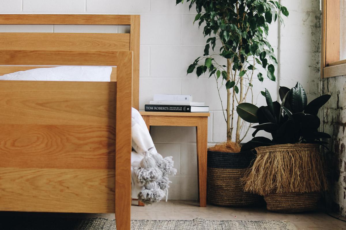 AL and Imo Handmade - Tall Scandi - custom American Oak timber bedframe - Surf Coast - Melbourne - Victoria - Australia-78.jpg