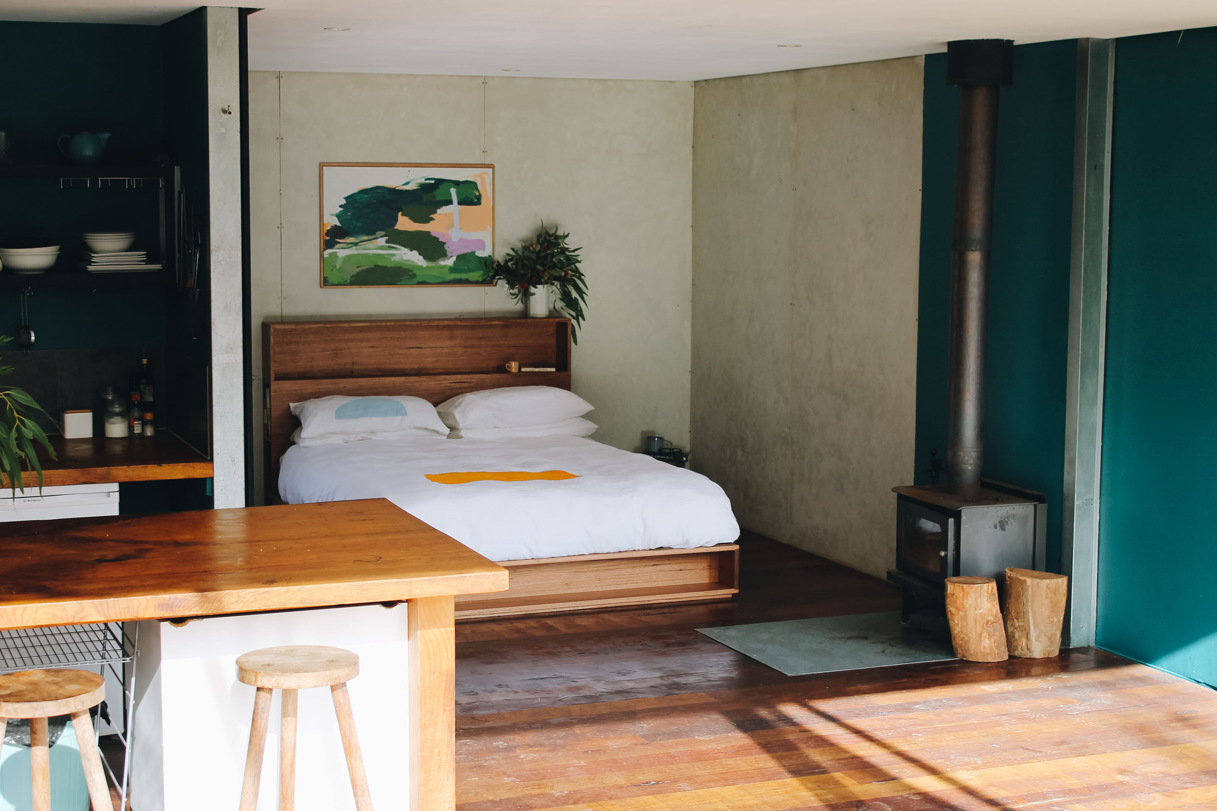 Al and Imo Handmade Bookshelf Drawer Bed Recycled timber - surf coast - melbourne - australia-23.jpg