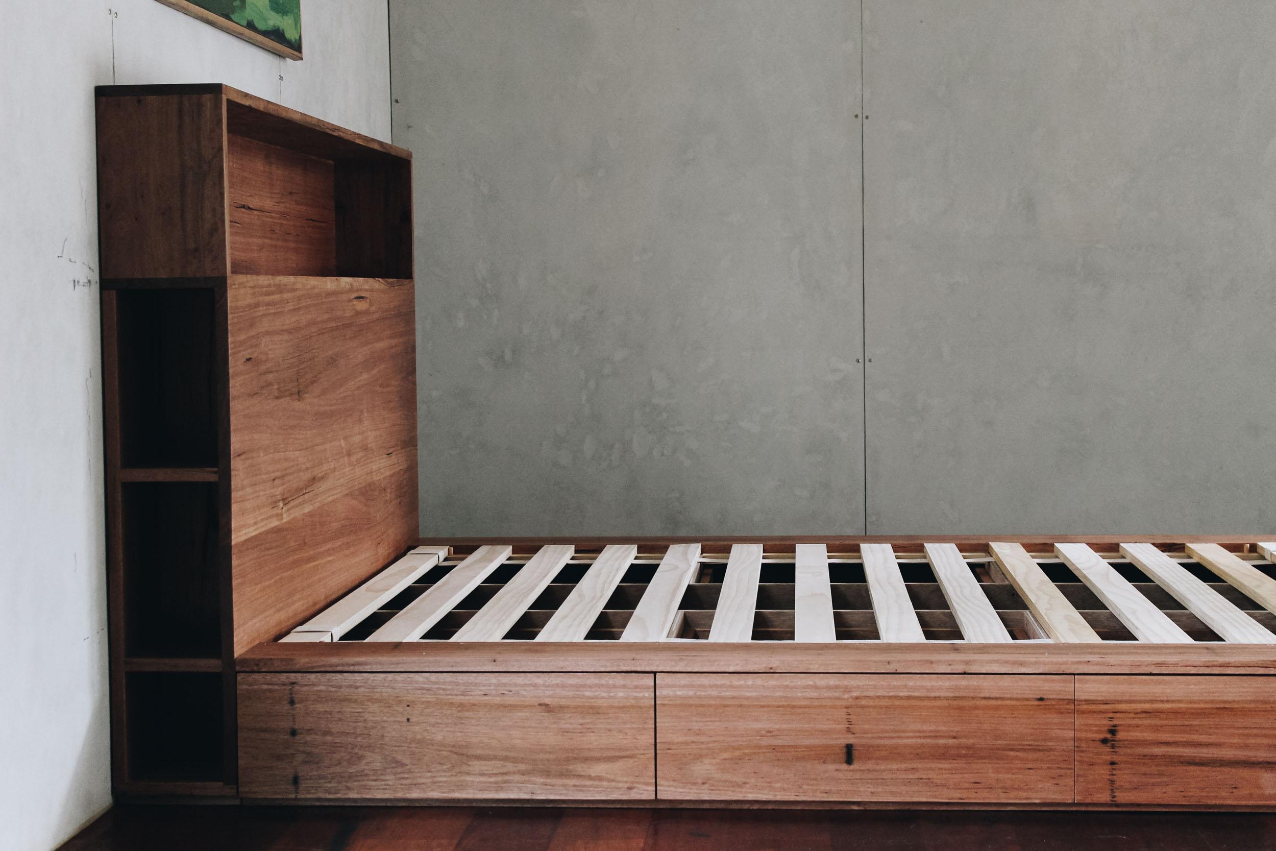 Al and Imo Handmade Bookshelf Drawer Bed Recycled timber - surf coast - melbourne - australia-31.jpg