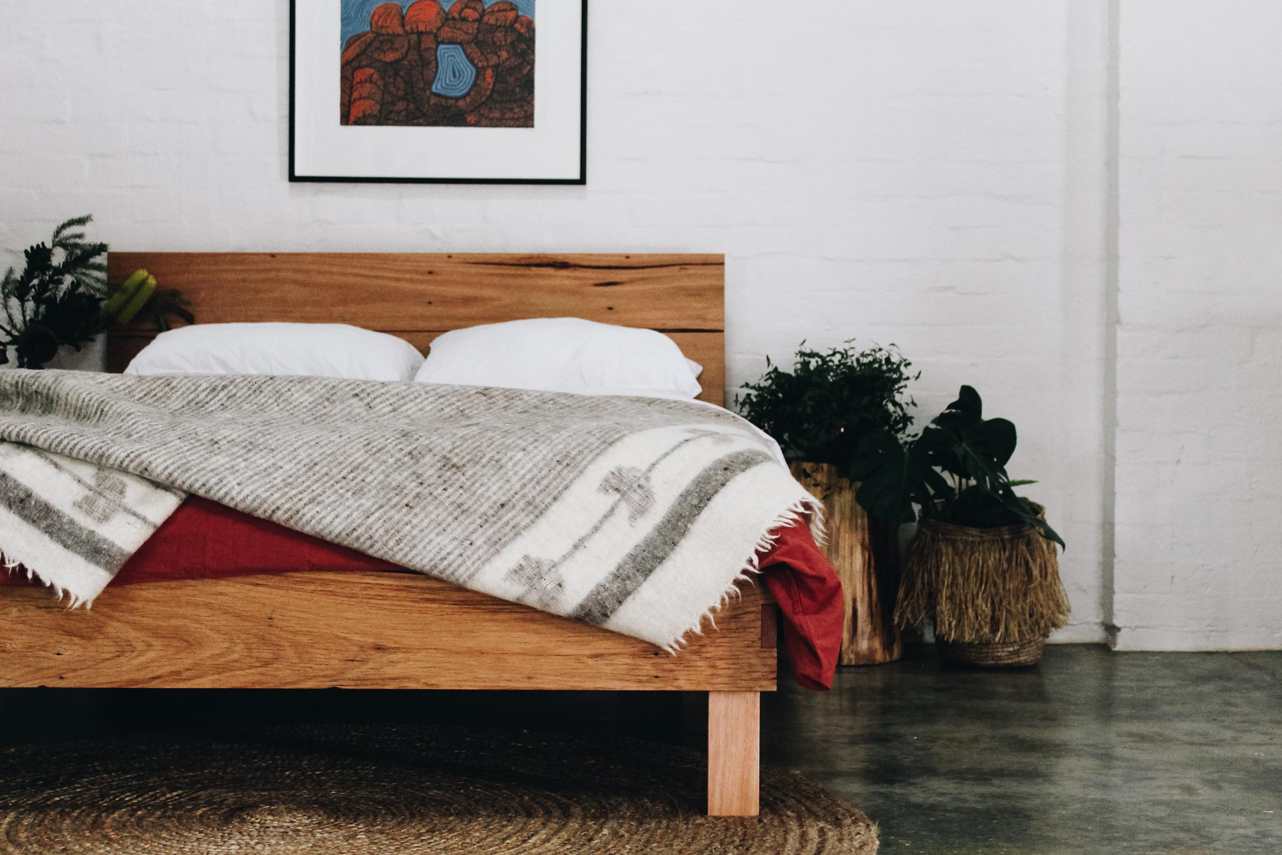 Al and Imo Handmade - Feature Headboard Square Bed - Surf Coast - Melbourne - Australia.jpg