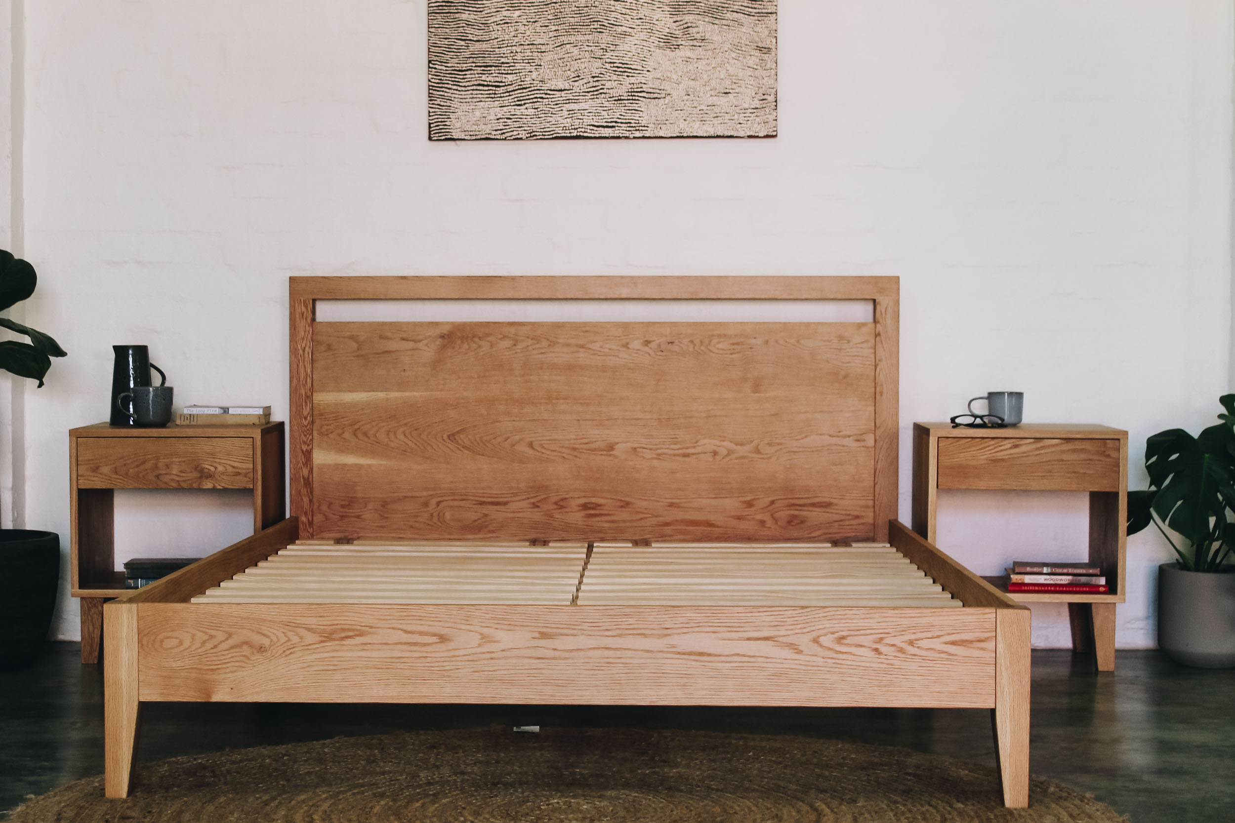 Al and Imo Handmade - American Oak Custom bed and Bedside Tables-34.jpg