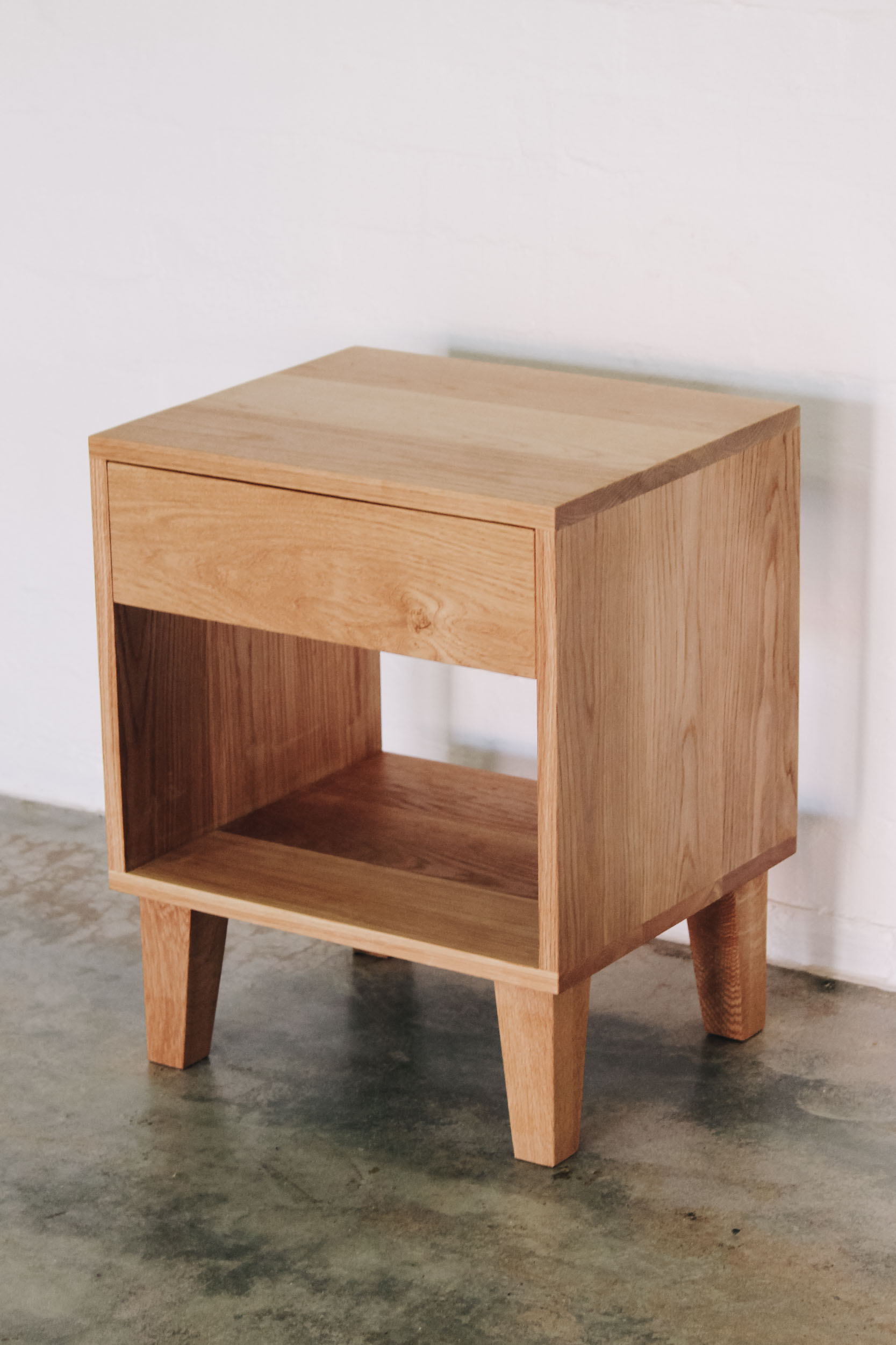 Al and Imo Handmade - American Oak Custom Bedside Tables-2.jpg