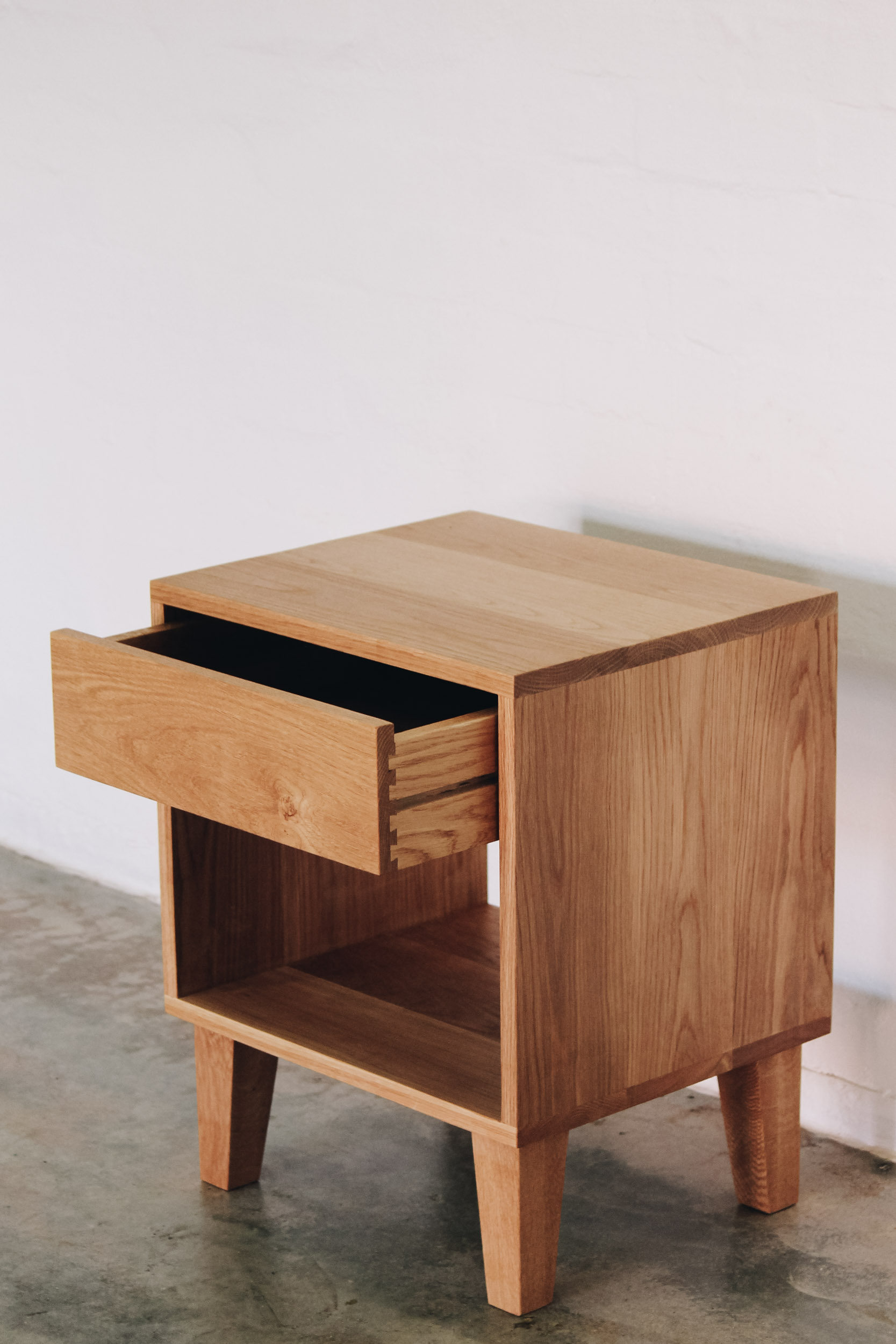 Al and Imo Handmade - American Oak Custom Bedside Tables-4.jpg