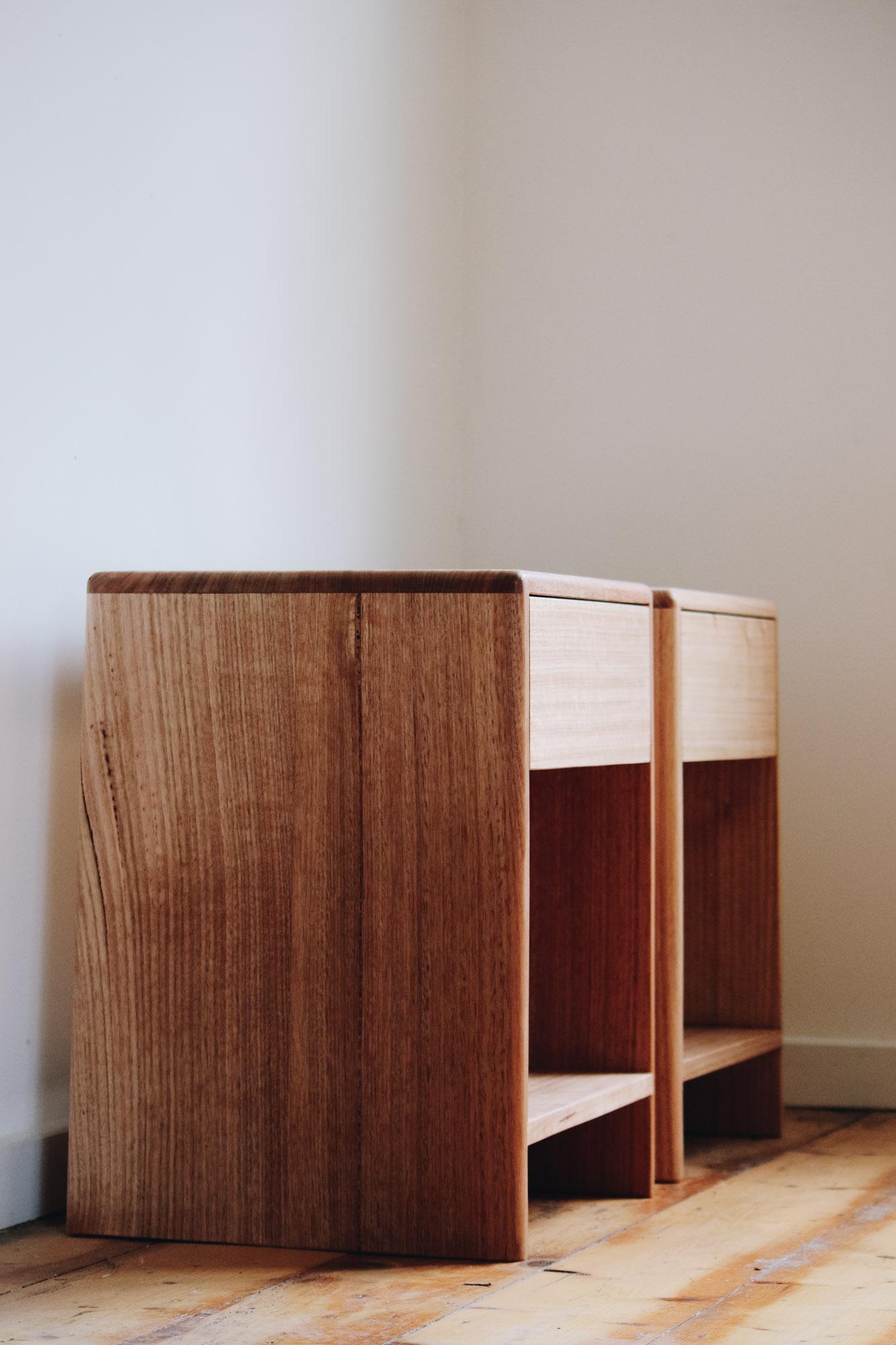 Al and Imo Handmade - Low Bedside Tables - Custom minimalst timber side drawer - Melbourne - Surf Coast - Australia-2.jpg
