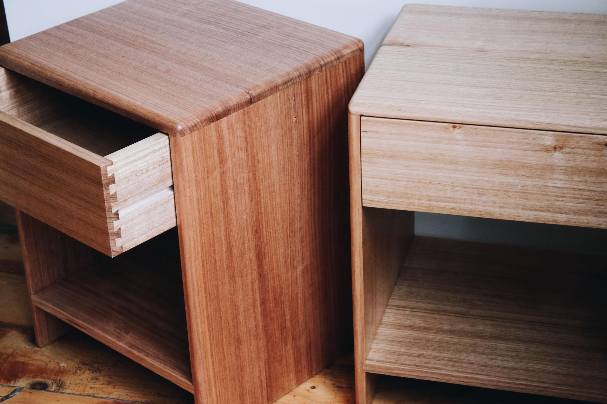 Al and Imo Handmade - Low Bedside Tables - Custom minimalst timber side drawer - Melbourne - Surf Coast - Australia-6.jpg