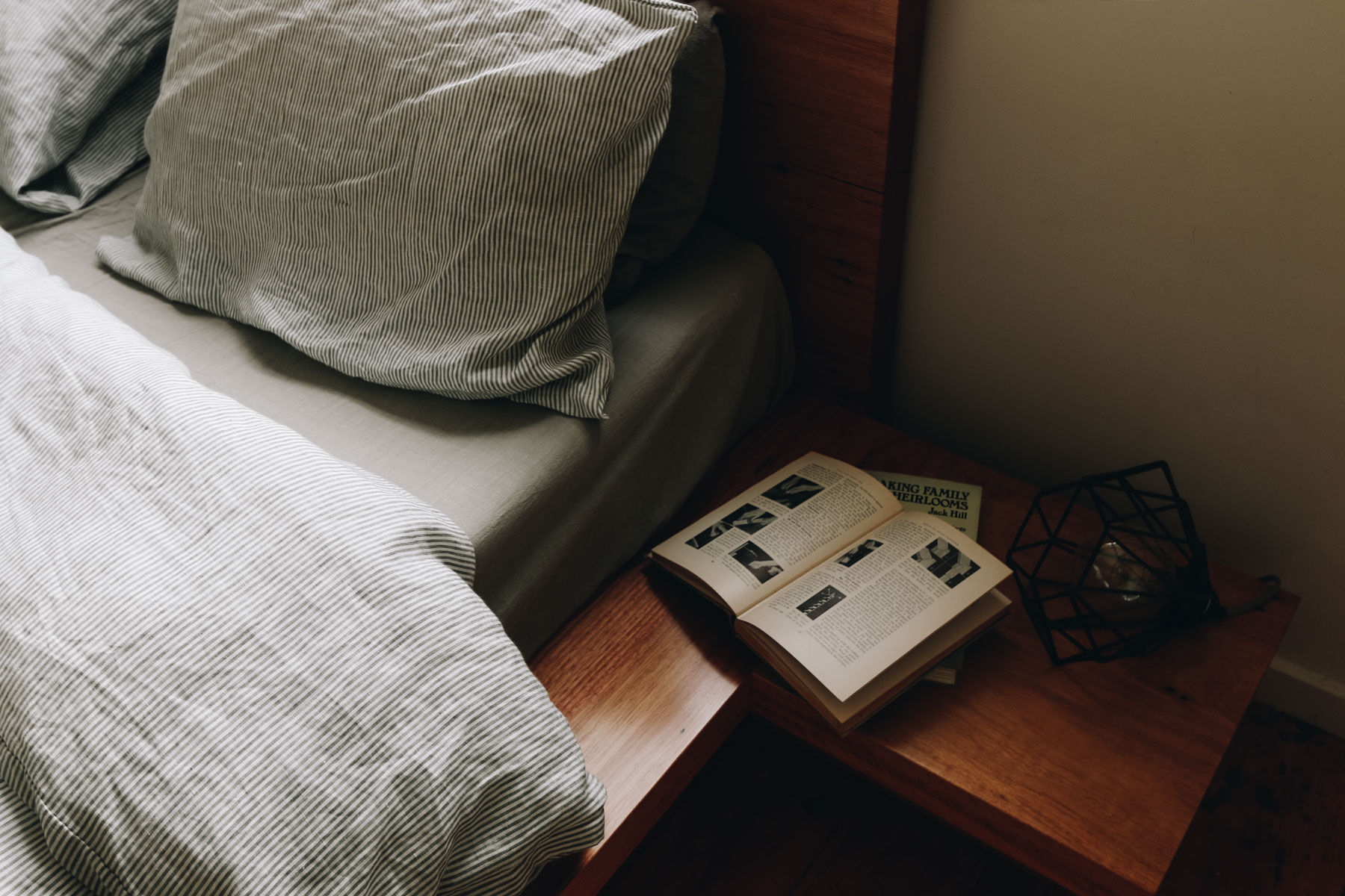 Al and Imo Handmade Ledge Bed - Built in Bedside tables - Recycled timber - Surf Coast, Melbourne, Australia-70.jpg