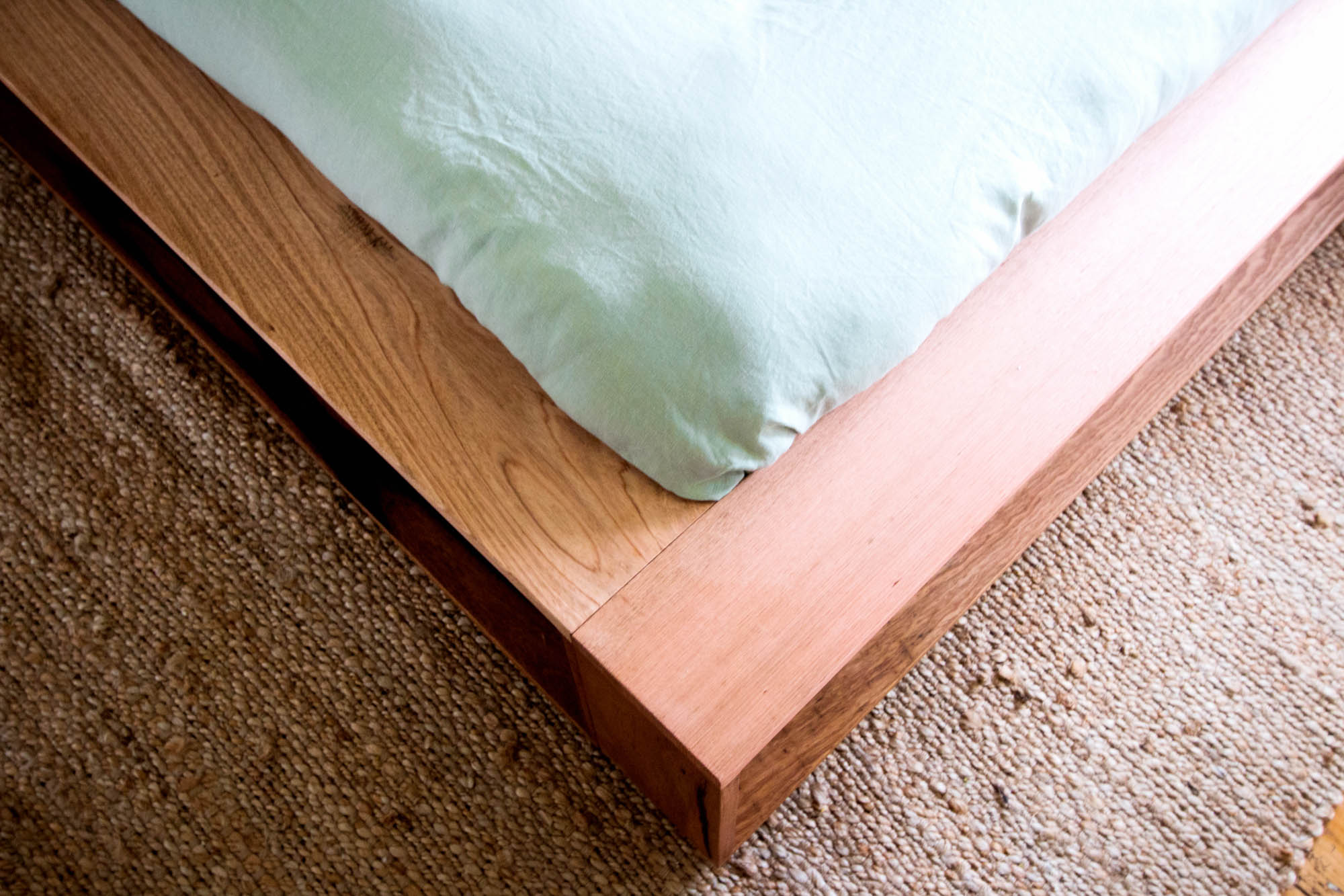 Al and Imo Handmade - Bookshelf Bedhead Platform Bed - Custom made from recycled timber - Australia - Melbourne - Surf Coast-20.jpg