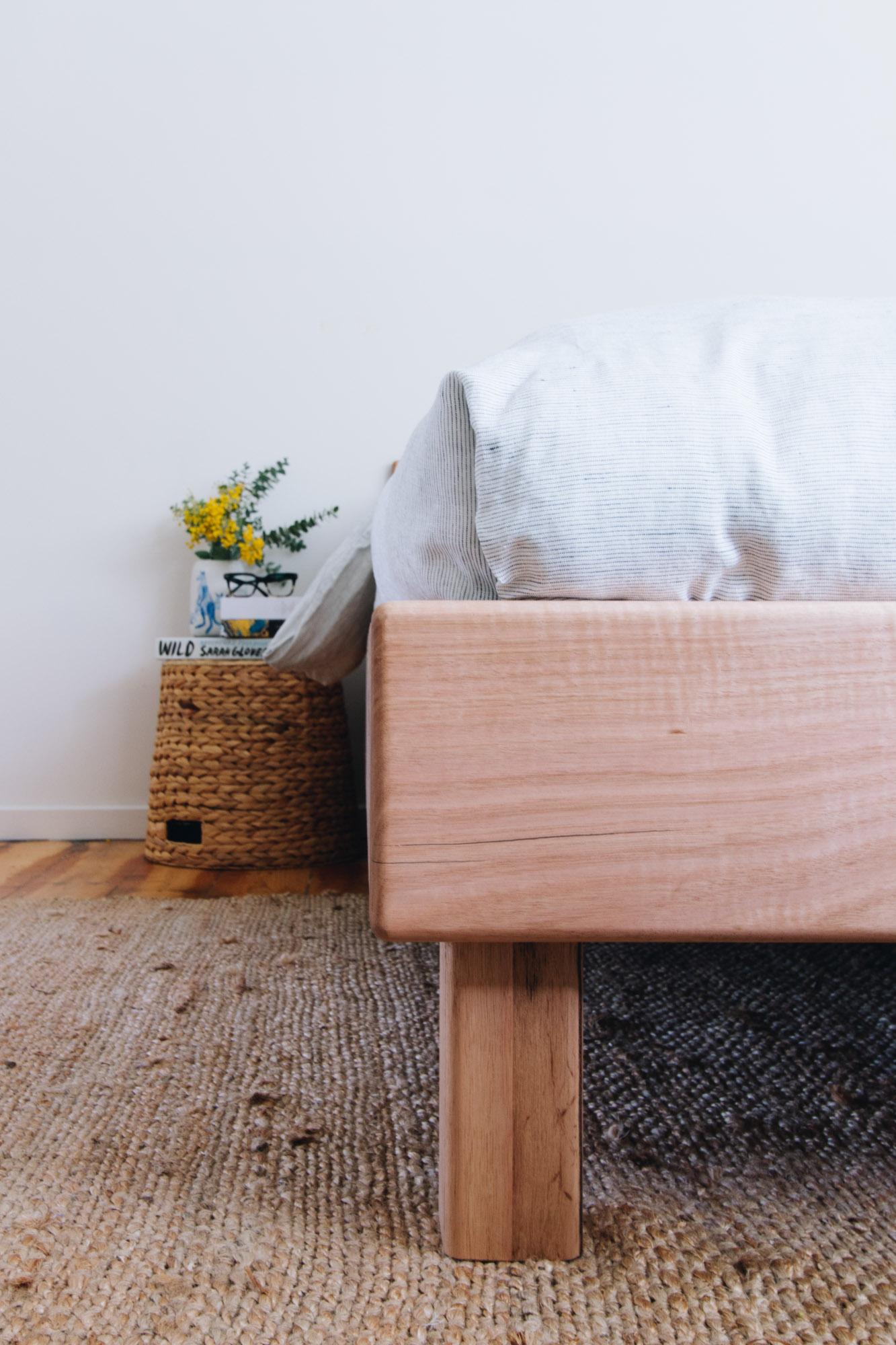 Al and Imo Handmade - Custom Minimalist bedframe - Low Bed with angled headboard - victorian ash - Melbourne - Australia_-10.jpg