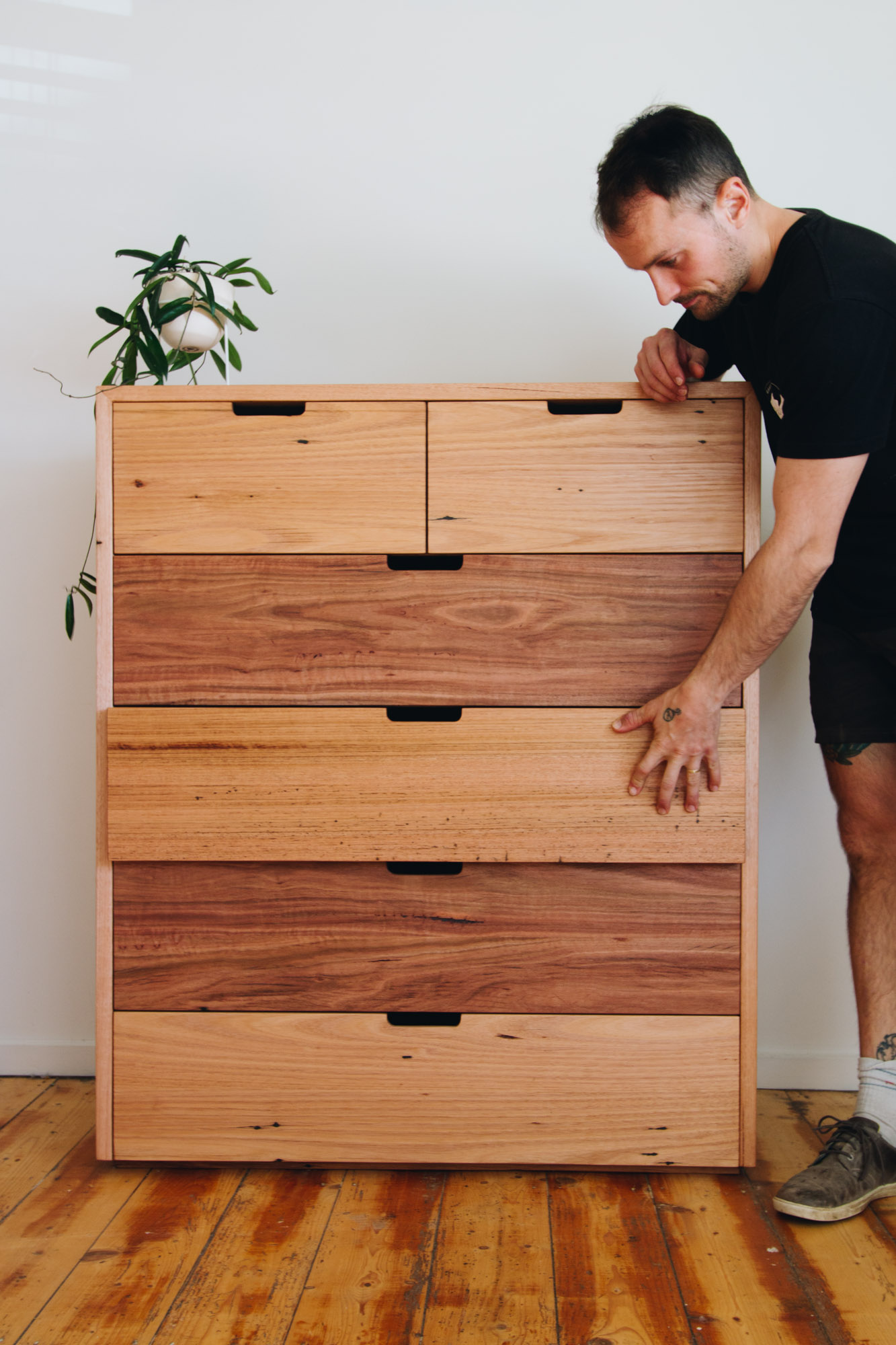 Al and Imo Handmade - Recycled Timber Tallboy - Melbourne - Australia-5.jpg