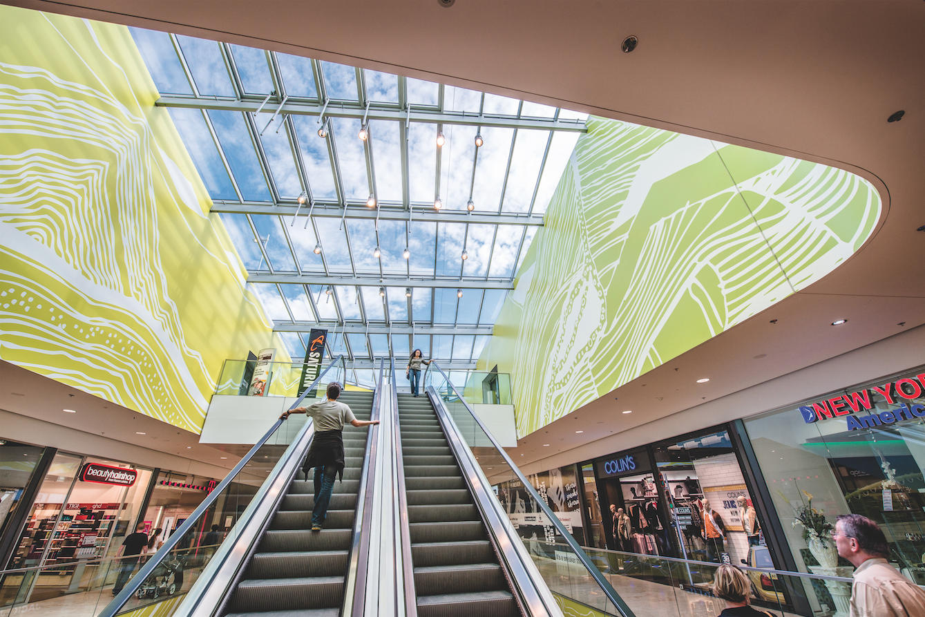 Daylighting retail environments has been shown to positively affect sales and increase the length of time customers feel comfortable indoors.