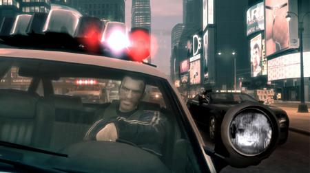 Officer Niko on patrol