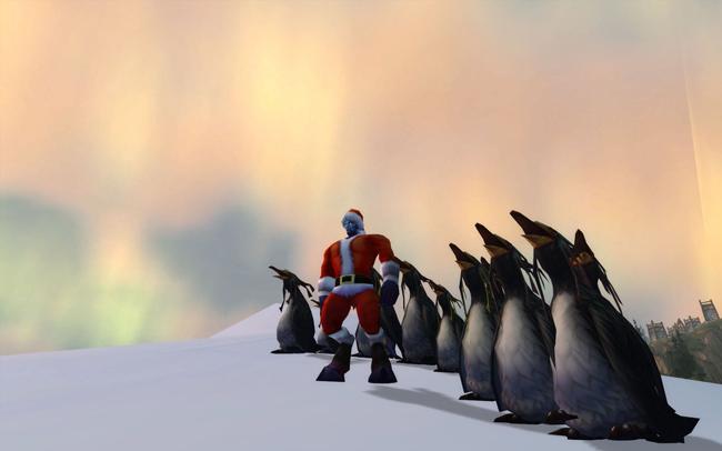 """Unfortunately, """"Penguin Party"""" isn't an achievement"""