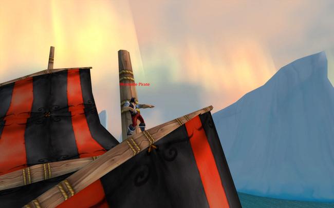 A random dancing pirate!