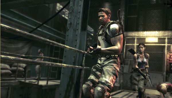Resident Evil 5 was the sales leader in March, nearing 1.5 million total copies on Xbox 360 and PlayStation 3. Image from residentevil.com.