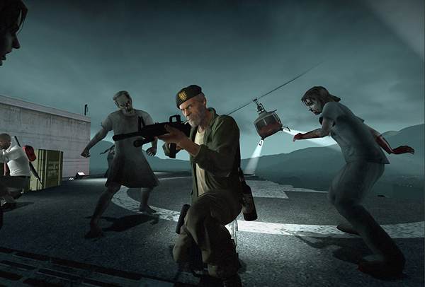 Left 4 Dead is getting an update next week, and the developers say the new Survival mode won't just ask for teamwork - it will demand it from players. Image from l4d.com.