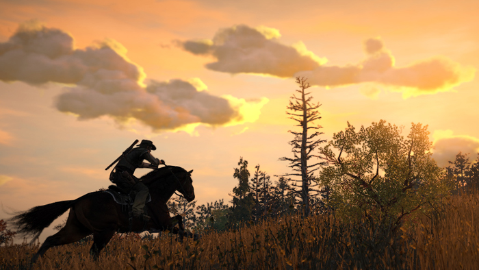 Red Dead Editorial - Sunset Ride