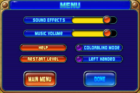 PopCap has an admirable reputation for making accessibility a top priority, and Peggle delivers with options to assist lefties and the colorblind.