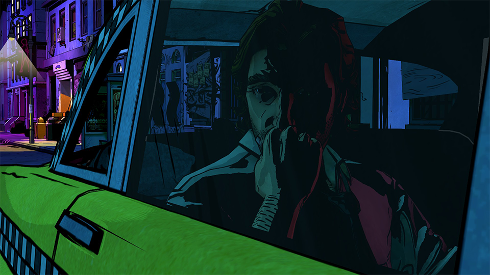 The Wolf Among Us' palette evokes the tone of Watchmen