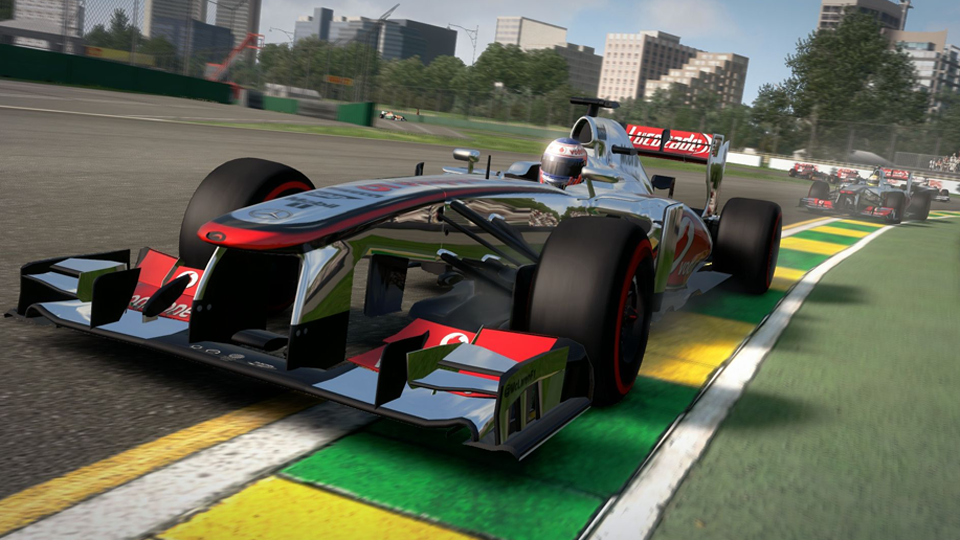 McLaren is one of the biggest F1 teams not included in F1 2013's F1 Classics. (Codemasters)