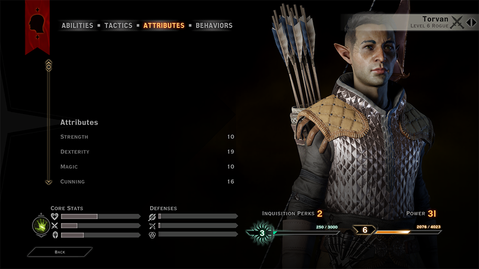 Torvan may be a hardened killer of demons from the Fade, but he looks damn good while doing it.