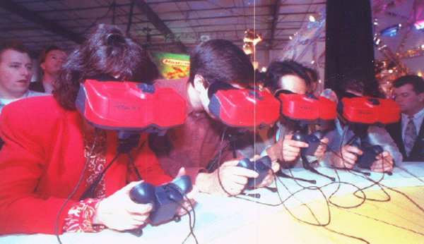 I was here! This could've been my head crammed into a Virtual Boy!