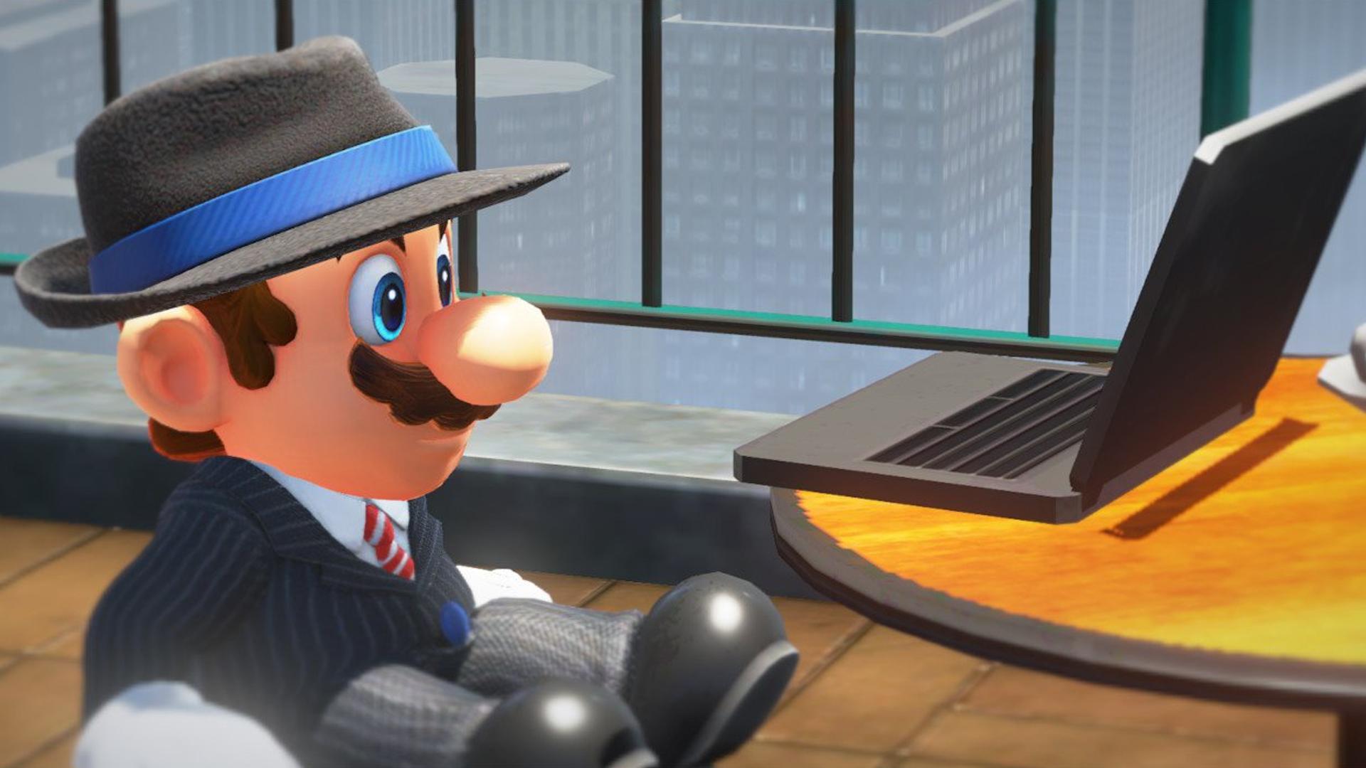 Mario's also an unpaid content generator.