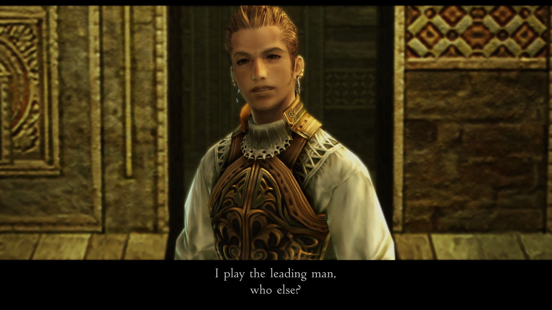 He's right. Vaan who?