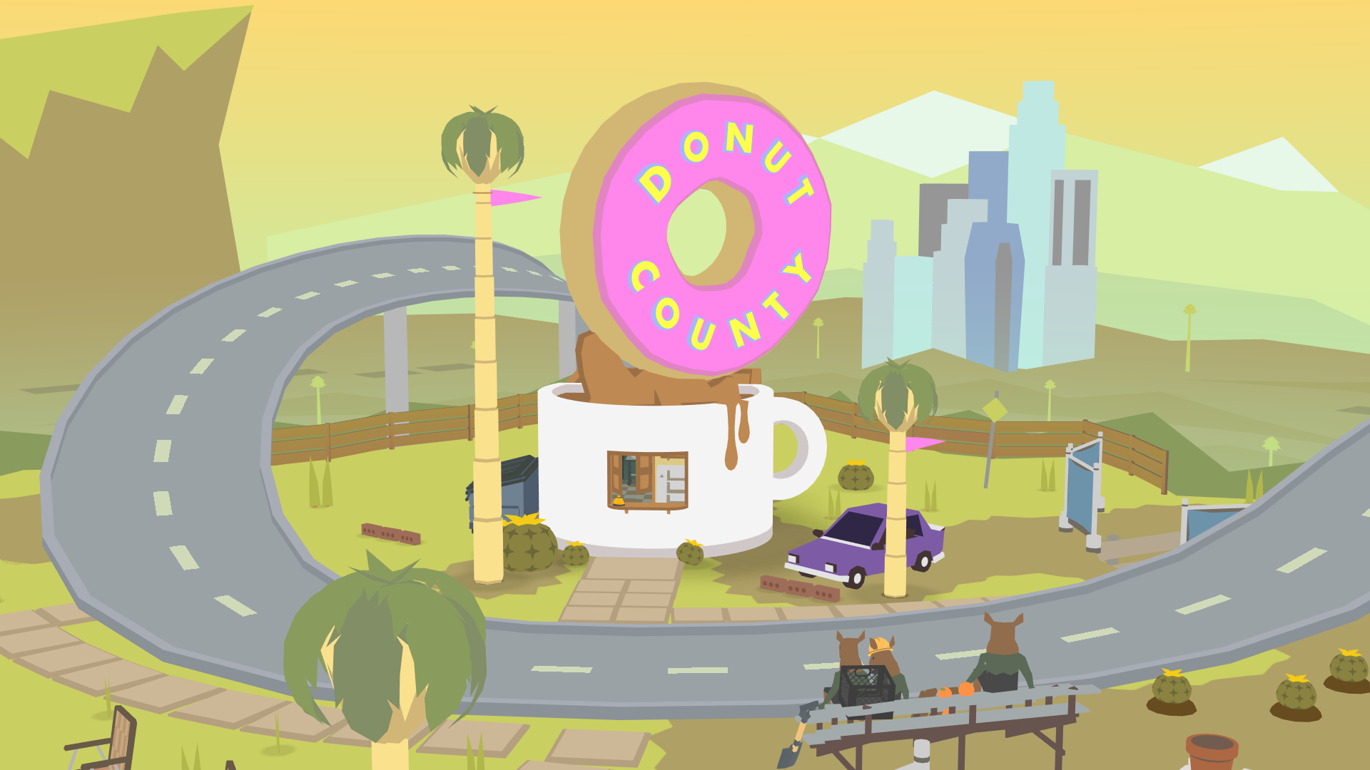 Just a normal donut shop
