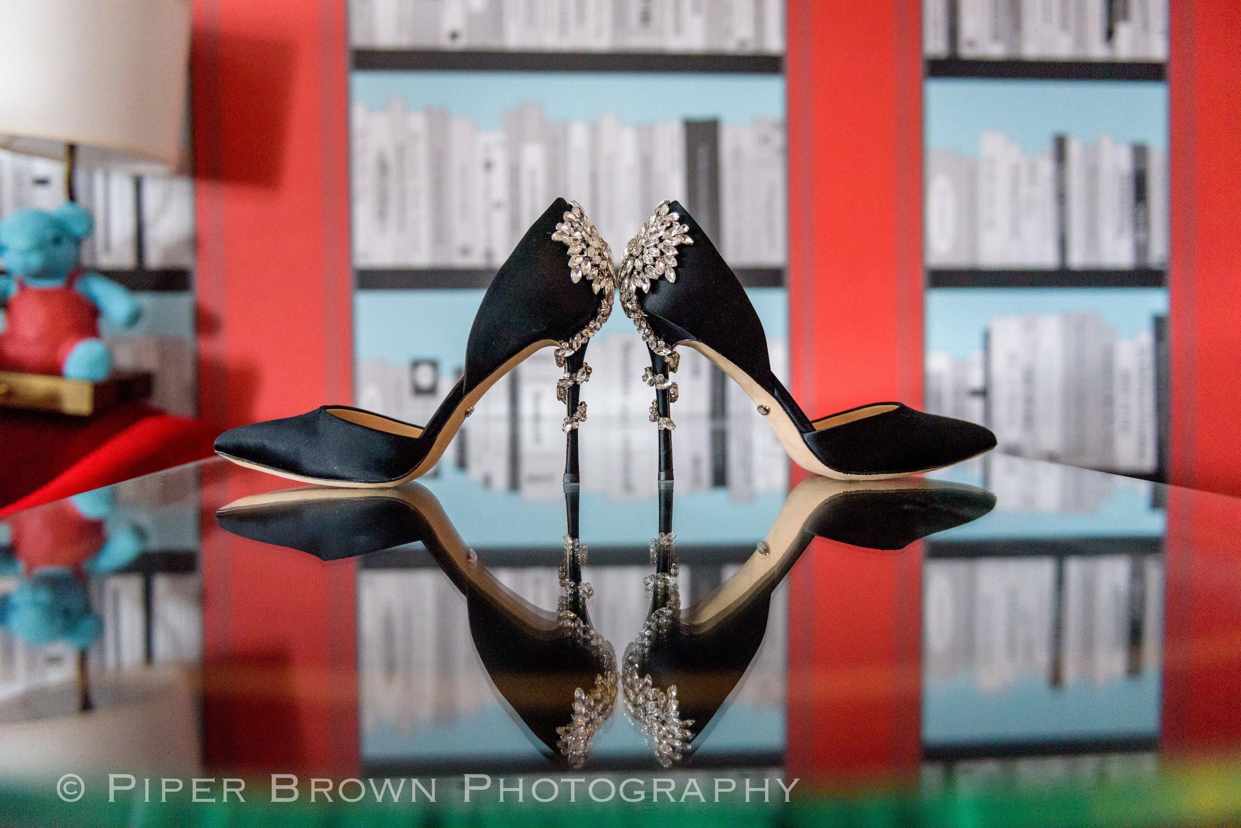 Badgley Mischka Vogue D'Orsay Evening Shoe