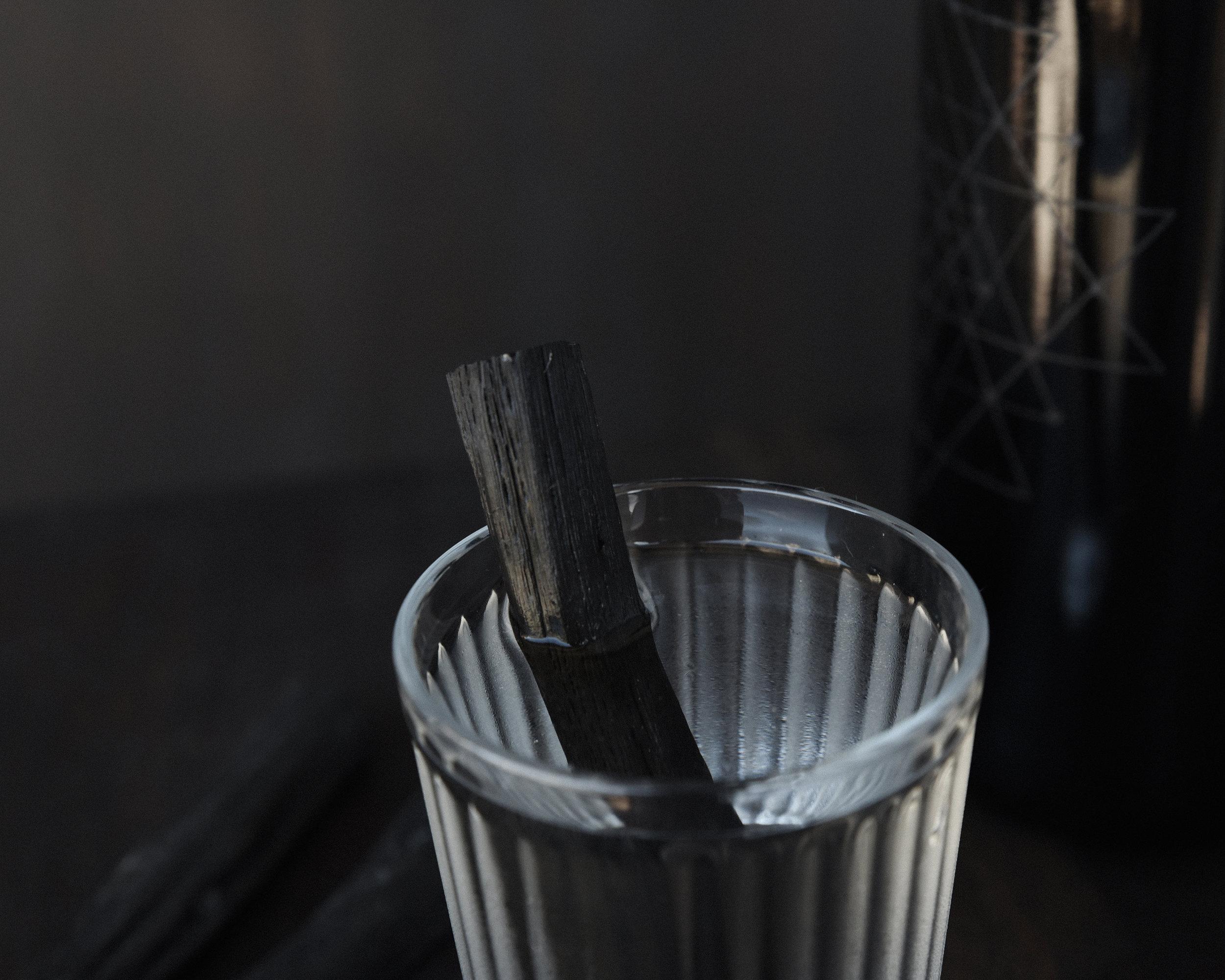 Binchotan Charcoal Sticks  for purifying drinking water.