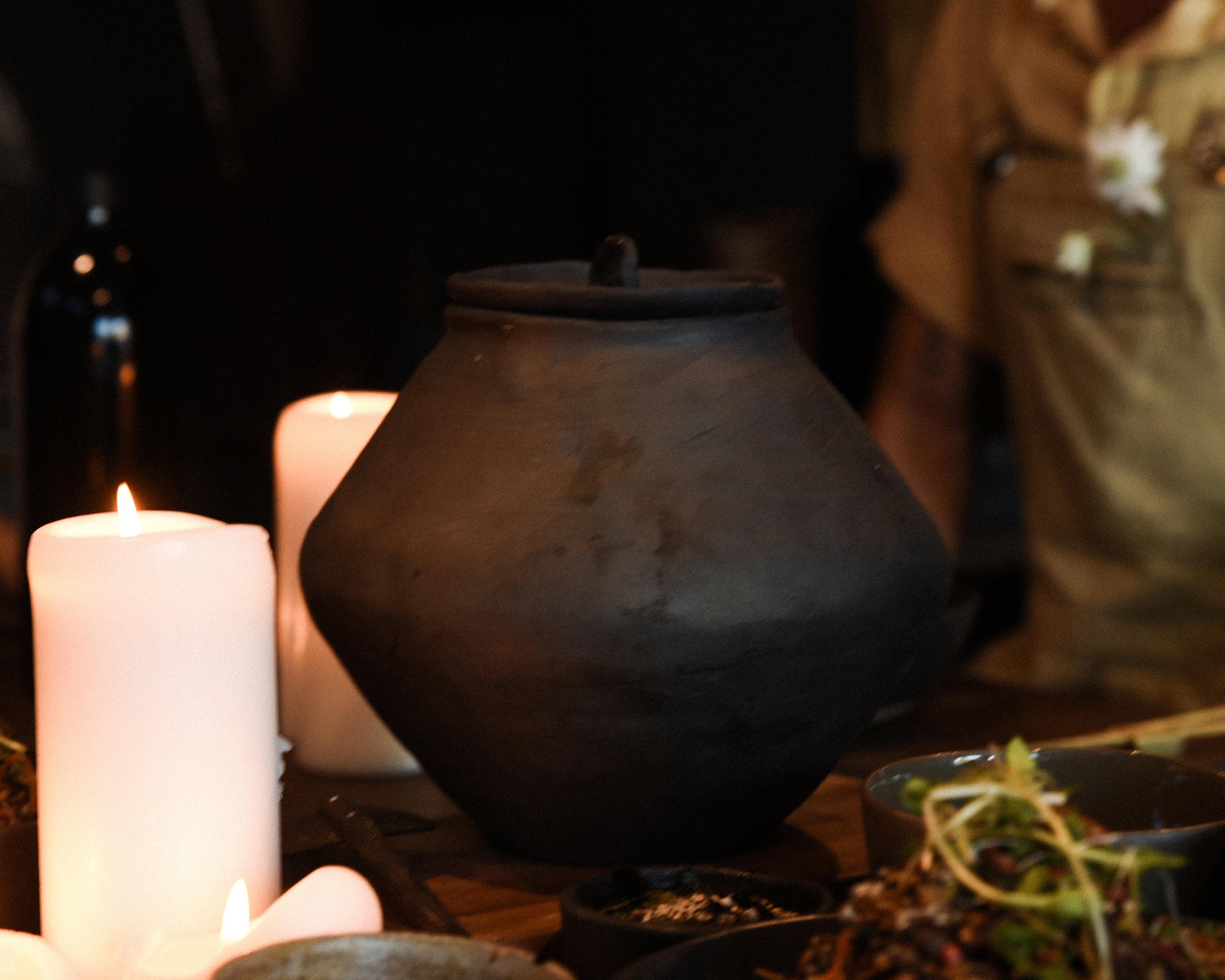 Blackware Cooking Pot