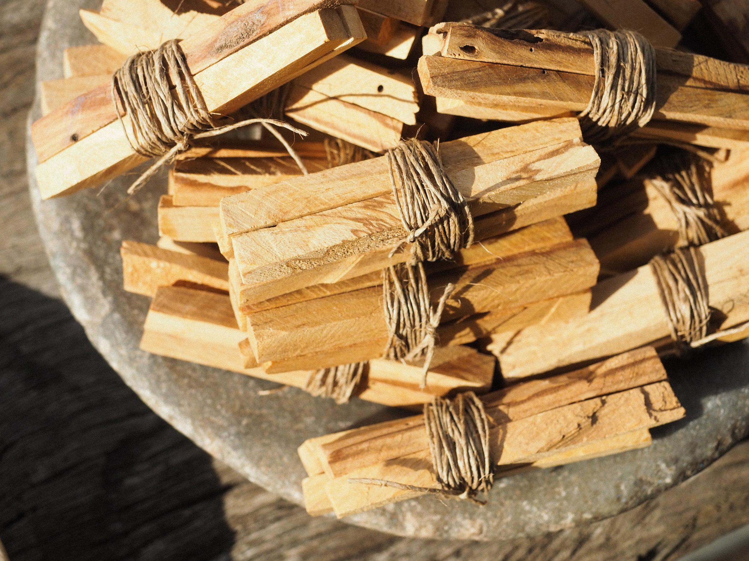 Ethically Sourced Palo Santo Sticks