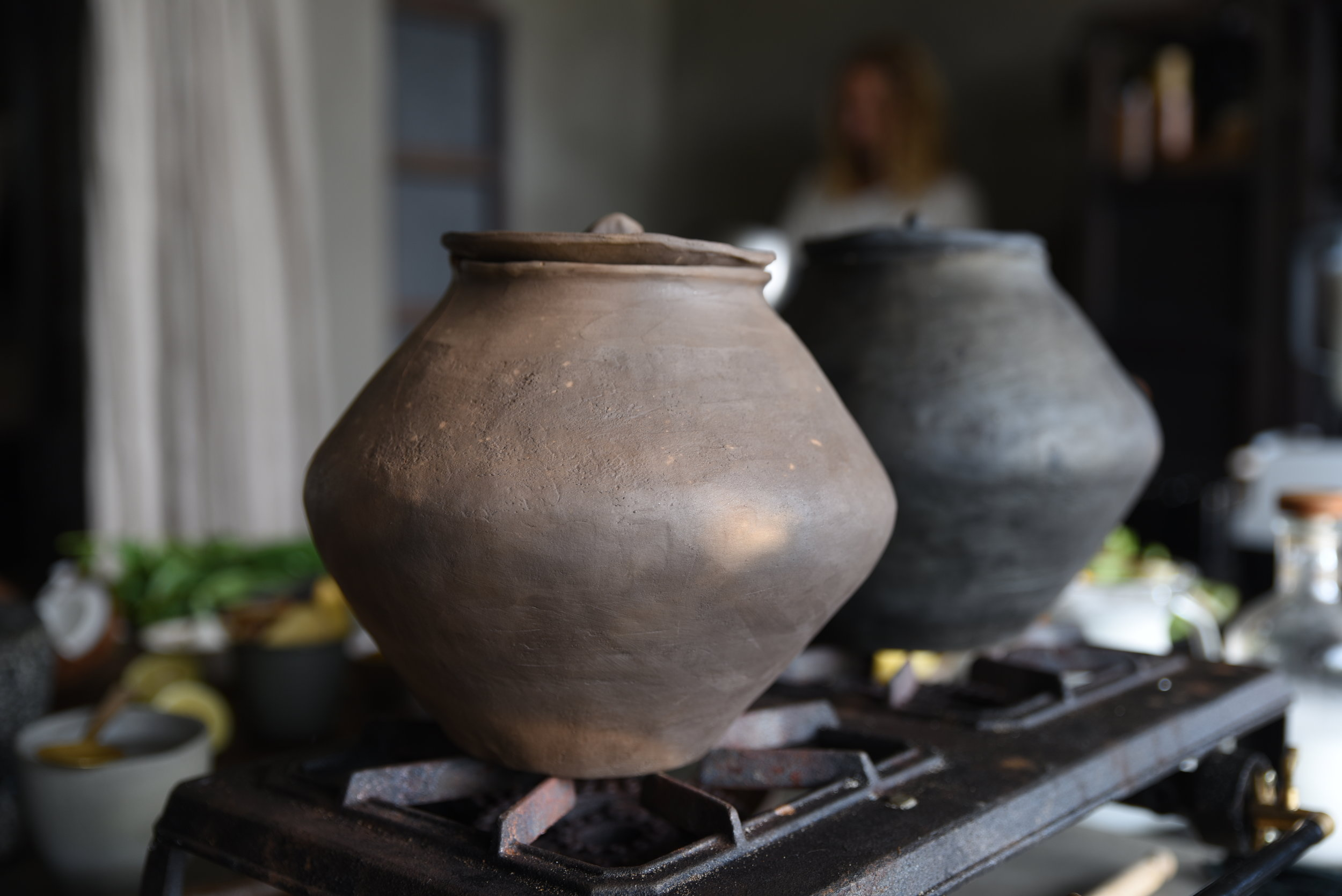 Photographed in  Pavel Zhuravlev Raw Clay Pot