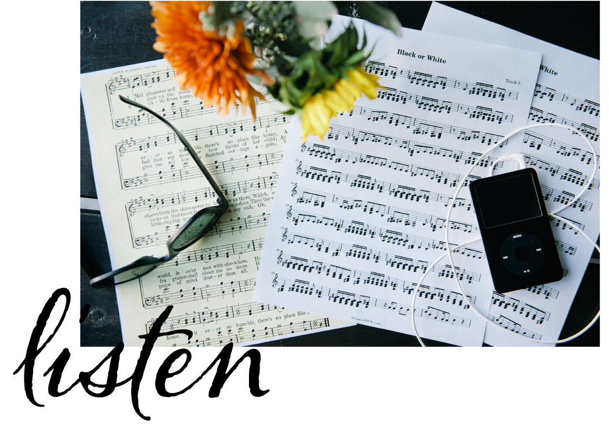 Listen Posts on Music Playlists and Cocktail Recipes on The Belle Wall