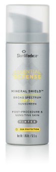 Essential Defense Mineral Shield Broad Spectrum Sunscreen SPF 32 (tinted)   Great if you want to use as a foundation.