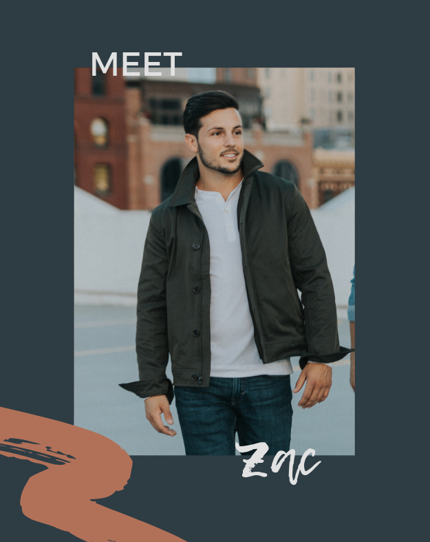 zac grey is a male influencer for urban you