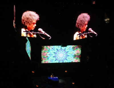 """Photo by Michaela, taken at Prince's last concert tour: """"One Man & A Piano"""""""