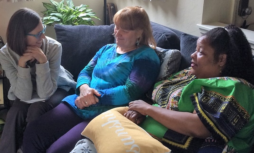 Jewel, Jennifer and LaTasha discuss their experience of receiving a Reiju (spiritual blessing)