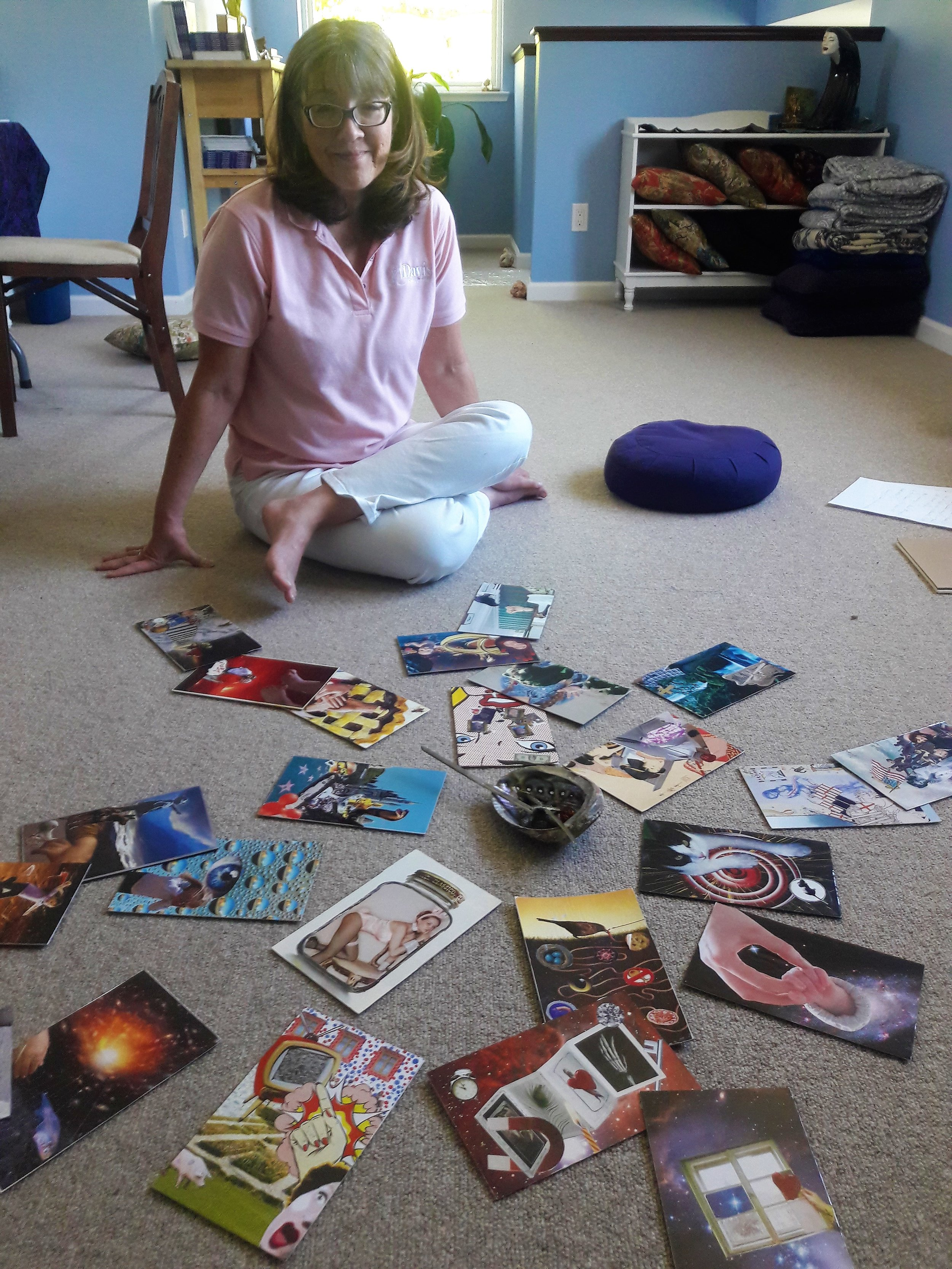 Laying out the story of a SoulCollage(R) deck