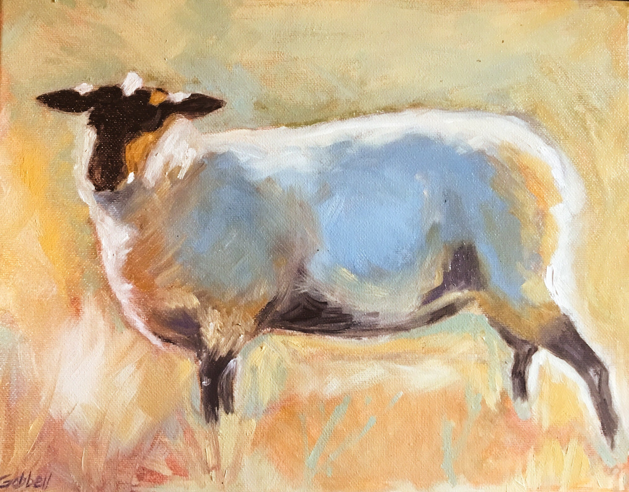 Sheep Study after original by RW