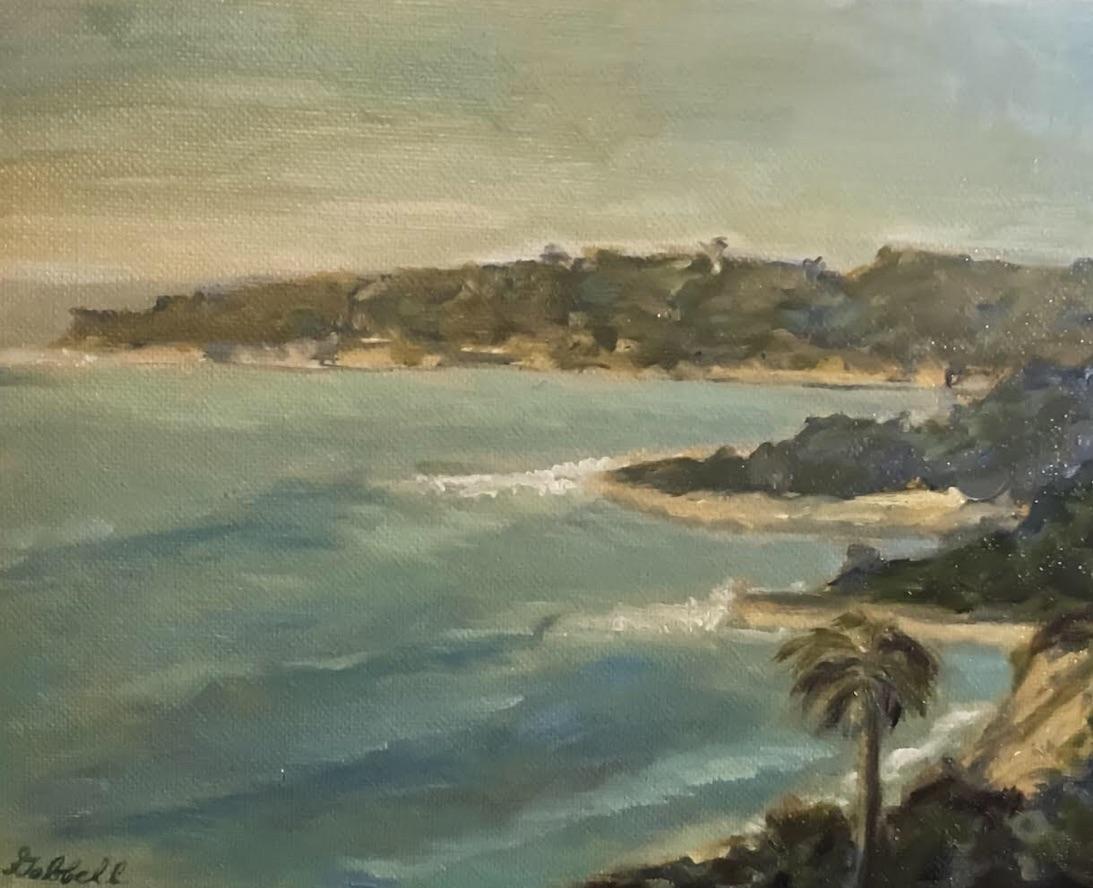 View of Santa Barbara Coast