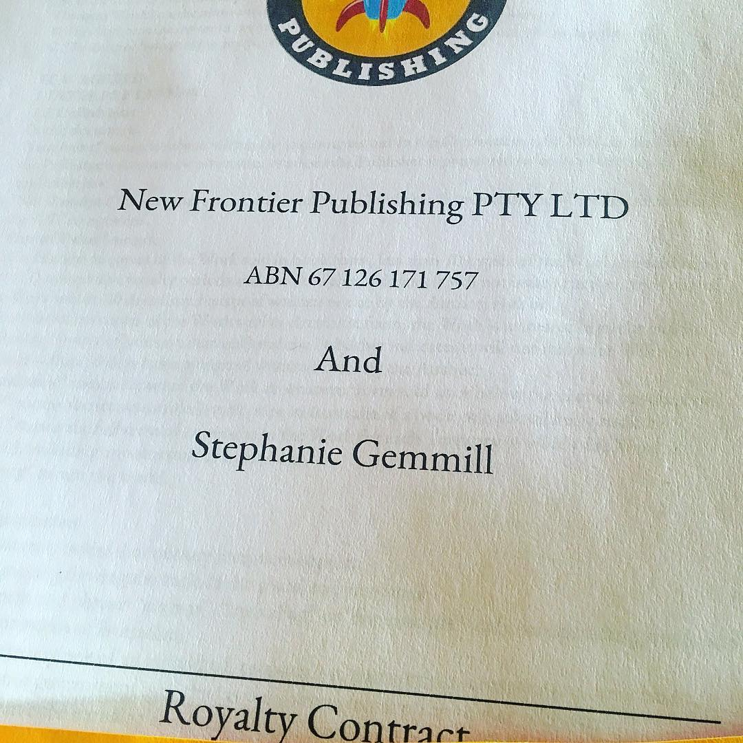 Publishing contract  -