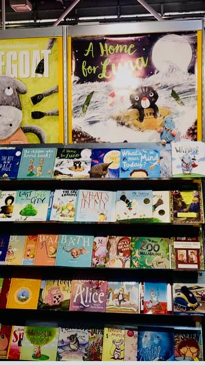 A Home for Luna visits the Bologna Book Fair 2019 -