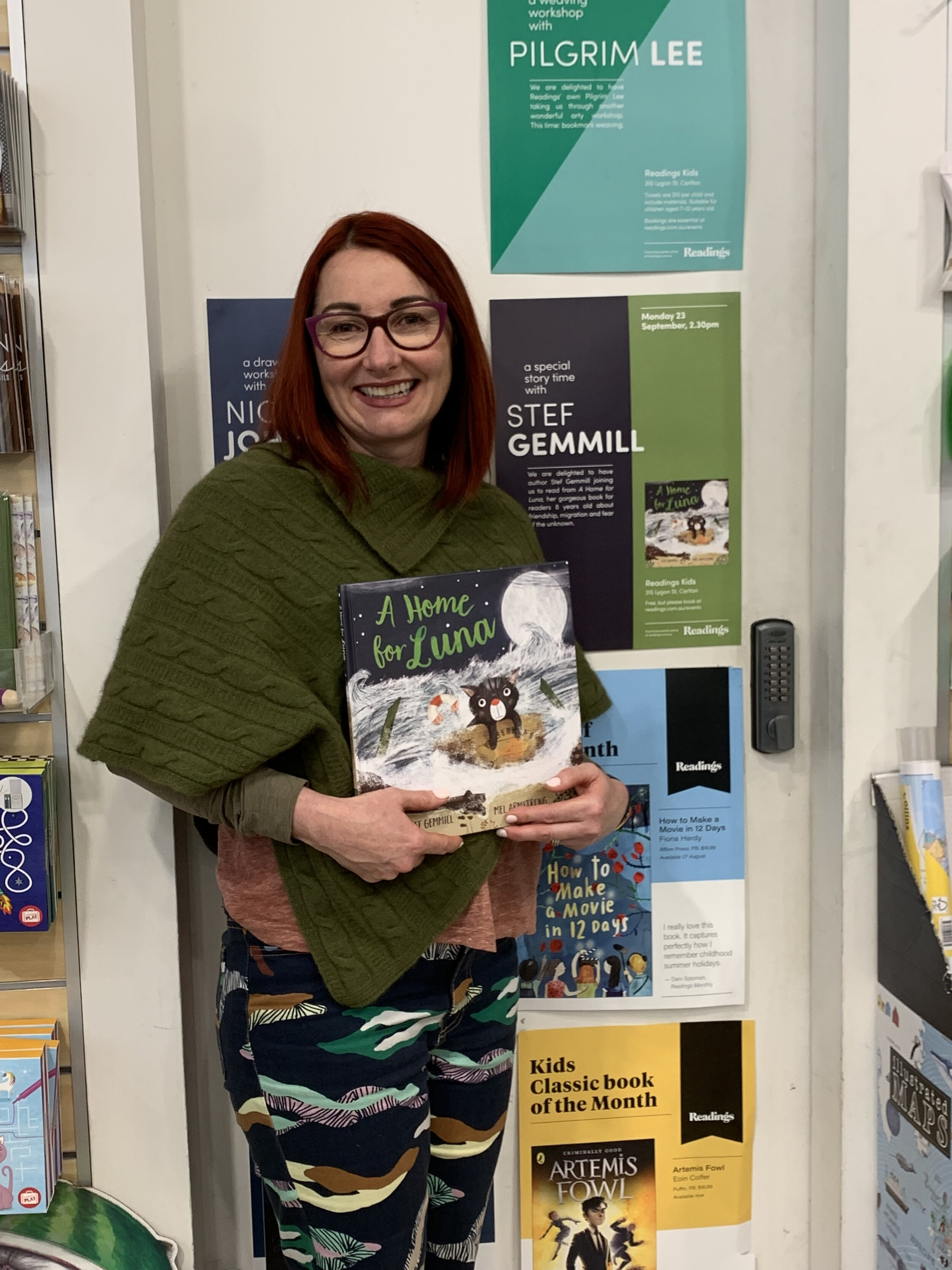 A Home For Luna - Readings Kids Melbourne Launch