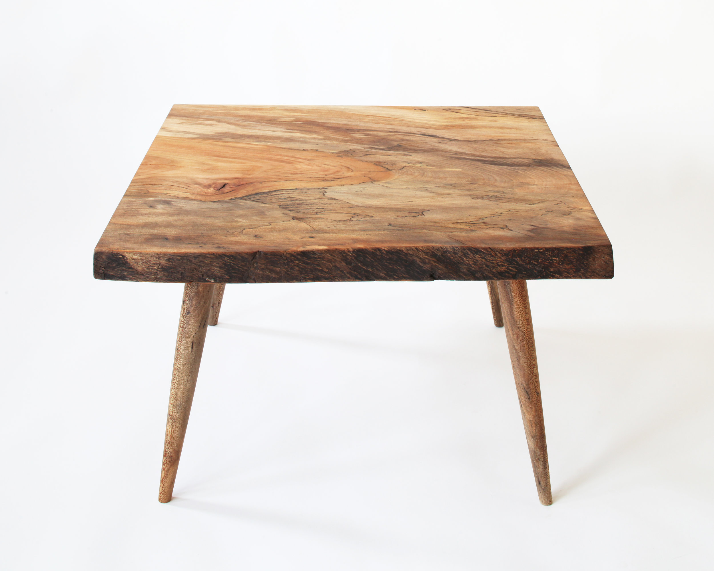 coffee table-  spalted sycamore