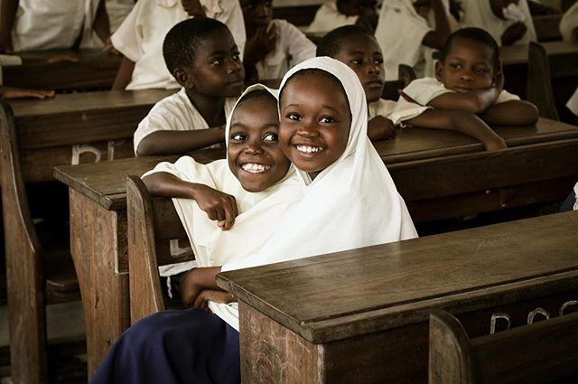 """Zanzibar is a Tanzanian archipelago best recognized for pristine beaches and historic Stone Town. However, within the bricks of school houses is an outstanding primary school enrolment rate nearing 98% (UNICEF, 2016). Initiatives such as 'Let Girls Learn' teemed with local government support have paved the way for girls to thrive in the classroom."" - Jessica Sexton, Johns Hopkins School of Public Health #globalNCD #photocontest #globalhealth #NCDs #publichealth"
