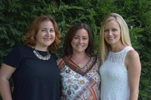 Dani, the brains; me, the soul; Wendy, the heart behind the Family Fertility Fund of Sask