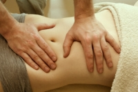 Fertility massage or ATMAT  can help break down adhesions and promote better circulation